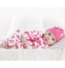Kickee Pants Natural Wombat Layette Gown Set 0-3m
