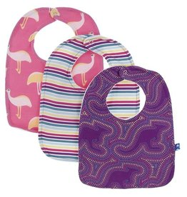 Kickee Pants Starfish Bib Set