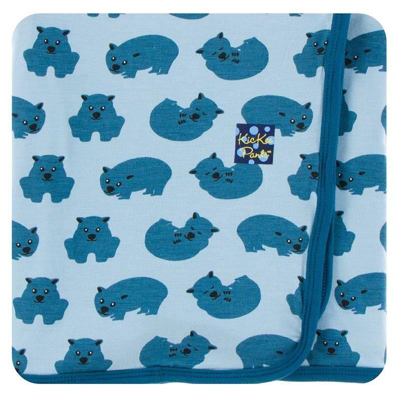 Kickee Pants Pond Wombat Swaddle