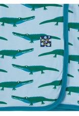 Kickee Pants Pond Crocodile Swaddle
