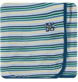 Kickee Pants Boy Perth Stripe Swaddle