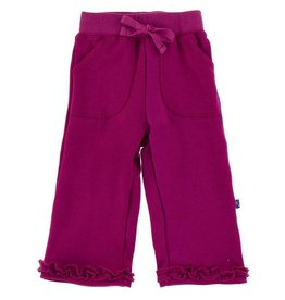 Kickee Pants Starfish Solid Ruffle Sweatpant