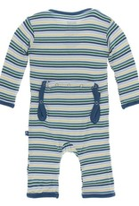 Kickee Pants Boy Perth Stripe Coverall