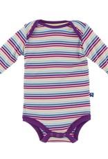 Kickee Pants Girl Perth Stripe LS One Piece