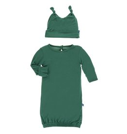 Kickee Pants Shady Glade Layette Gown Set 0-3m