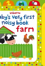 Usborne Books baby's first noisy book farm