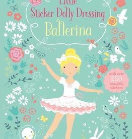 Usborne Books Sticker Dolly Dress ballerinas
