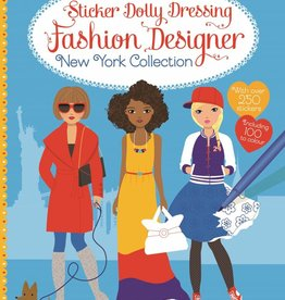 Usborne Books Sticker Dolly Dressing Fashion New York