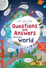 Usborne Books Lift Flap Q&A about world