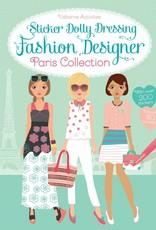 Usborne Books Fashion Design Sticker Dolly Dressing