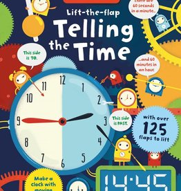 Usborne Books Lift the Flap telling time
