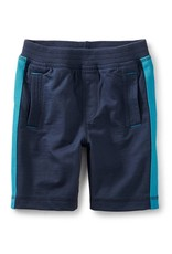 Tea Collection Side Stripe Shorts INDIGO
