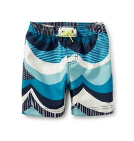 Tea Collection Make Waves Swim Trunks INDIGO