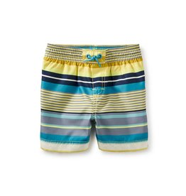 Tea Collection Dawn Patrol Baby Swim Trunks HIGH VISIBILITY