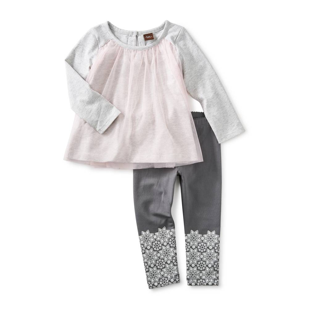 Tea Collection MacKenzie Baby Outfit