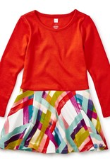 Tea Collection Plaid Skirted Dress