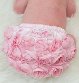Ruffle Butts Pink Rose Bloomer  18-24m