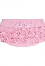 Ruffle Butts Pink Knit Ruffle Butt  6-12m