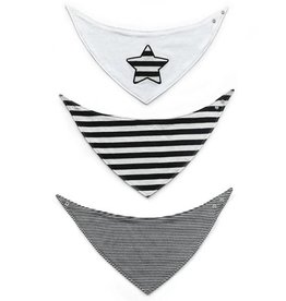 Kapital K Star/Stripe Bandana Bib Set