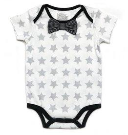 Kapital K Stars Printed Jersey Bowtie Bodysuit