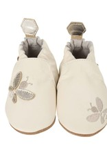 Robeez Cream Bee Soft Sole