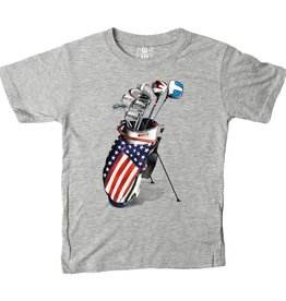 Wes and Willy Golf Clubs Heather Tee