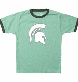 Wes and Willy Michigan State Classic Ringer Tee