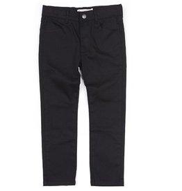 Appaman Vintage Black Skinny Twill Pant
