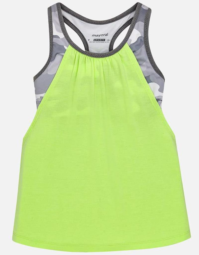 Mayoral USA Neon Lime Strappy Tank