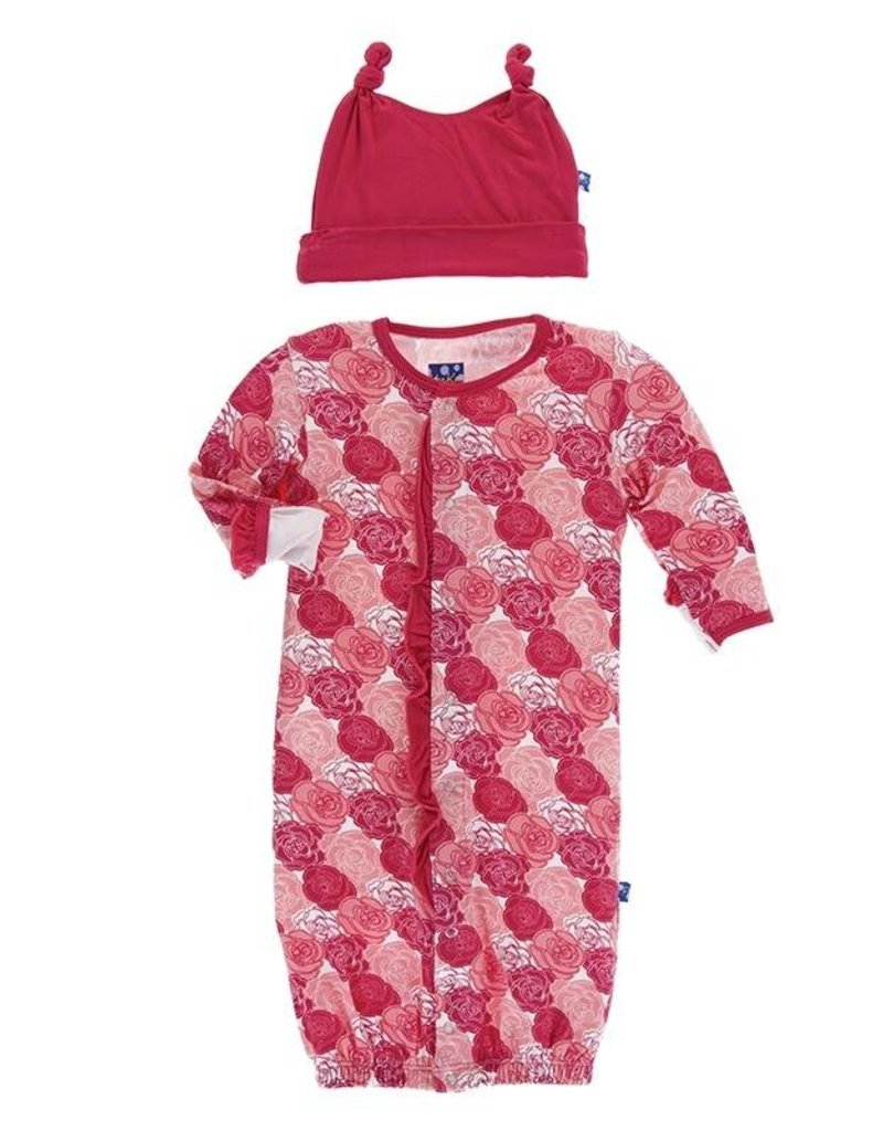 Rose Ruffle Layette Gown - My Urban Toddler at Arbor Hills