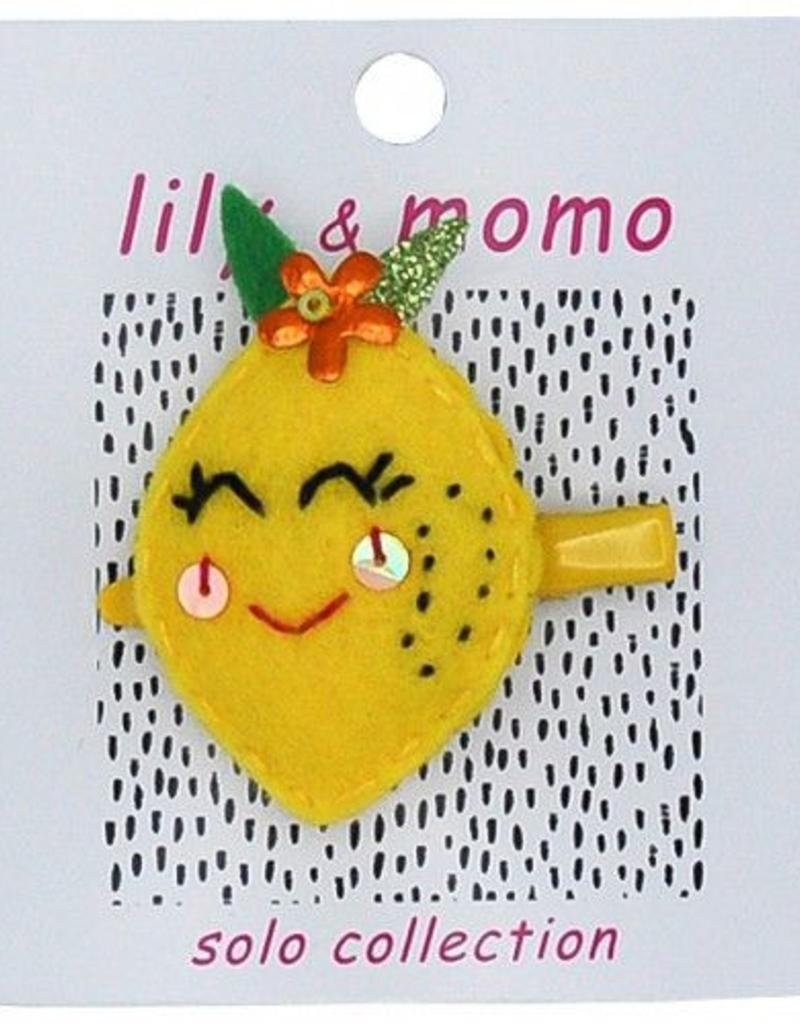 Lily and Momo lovely lemon clip