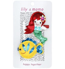 Lily and Momo mermaid and fishie clips