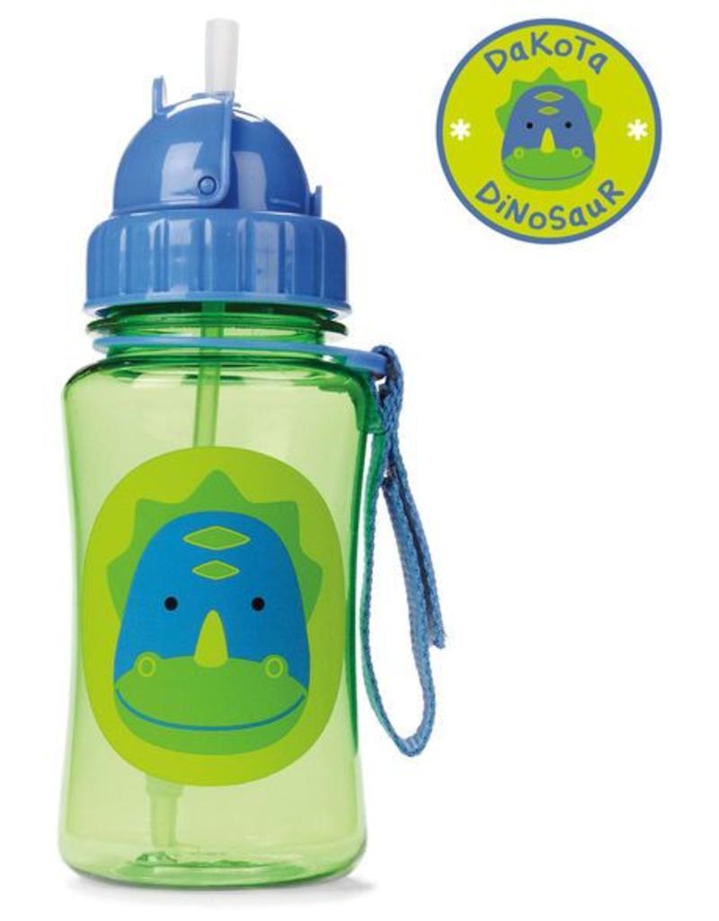 Skip Hop Zoo Straw Bottle