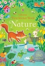 Usborne Books First Sticker Book Nature