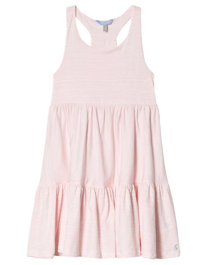 Little Joule Pink Stripe Dress