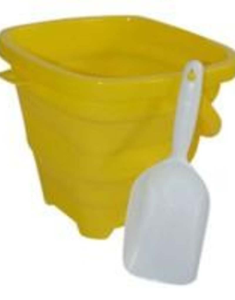 Aqua Vault Sunshine Yellow Packable Pail
