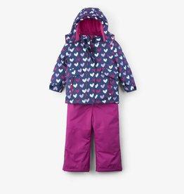 Hatley Multi Heart Snow Suit Set