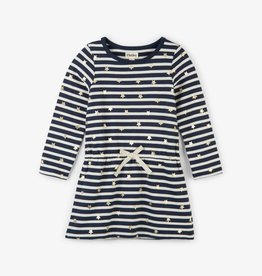 Hatley Starry Stripes French Terry Dress
