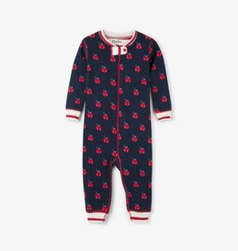 Hatley Organic Smiling Apples Coverall
