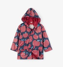 Hatley Polka Dot Apple Raincoat