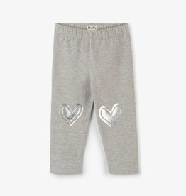 Hatley Metallic Heart Leggings