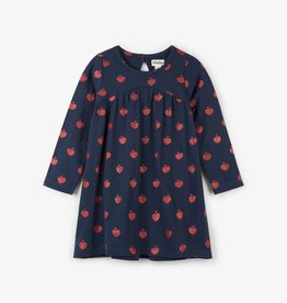 Hatley Glitter Apples Trapeze Dress