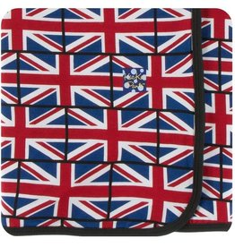 Kickee Pants Union Jack Swaddle