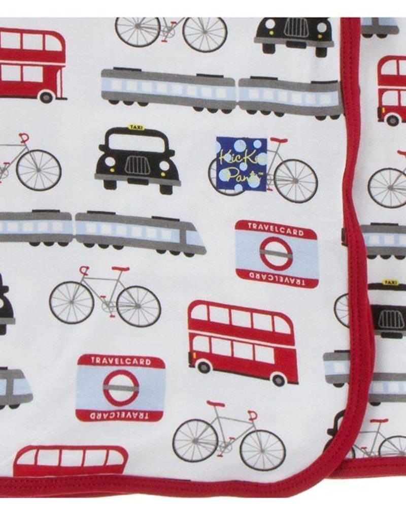 Kickee Pants London Transport Swaddle