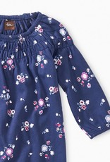 Tea Collection Winter Blooms Smocked Romper