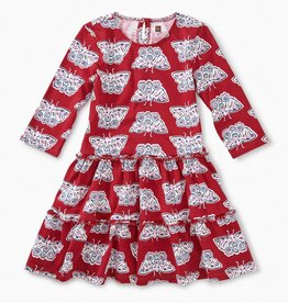 Tea Collection Tiered Winter Dress