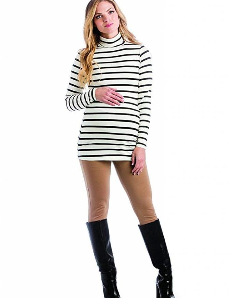 Black Stripe Lucy Top  Large