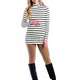 Black Stripe Lucy Top  XLarge