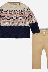 Mayoral USA Eclipse Sweater & Pant Set