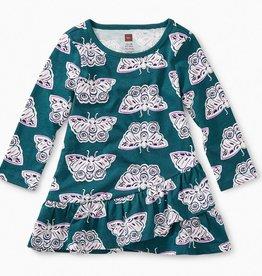 Tea Collection Ruffle Hem Baby Dress